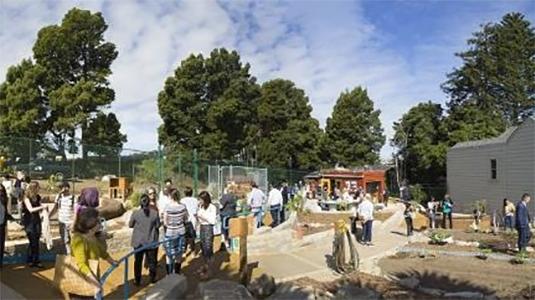 منظر بانورامي لحديقة التعلم