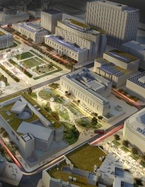bản vẽ của Trung tâm hành chính San Francisco