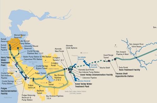 карта водоснабжения
