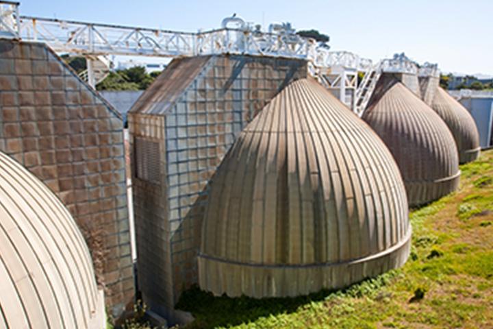 Thiết bị phân hủy kỵ khí tại Nhà máy xử lý nước thải Oceanside