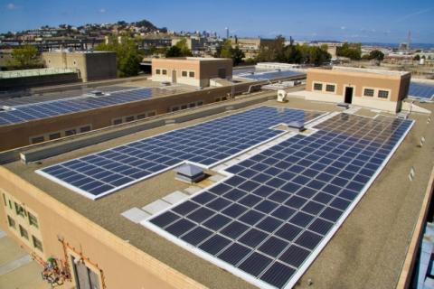صفيف الطاقة الشمسية
